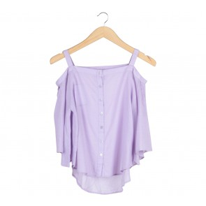 Tosavica Purple Blouse