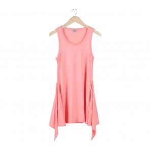 Zara Pink Tied Mini Dress