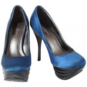 Bebe Blue Heels