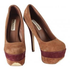 Steve Madden Brown Platform Heels