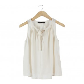 Zara Cream Sleeveless
