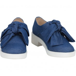 Asos Blue Minnie Bow  Sneakers