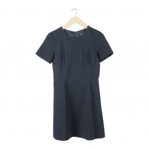 Oasis Dark Blue Mini Dress