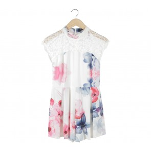 Zalora Multi Colour Floral Jumpsuit