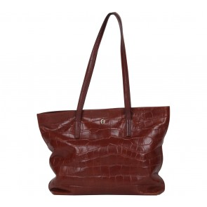 Aigner Brown Tote Bag