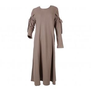 Maima Light Brown Long Dress