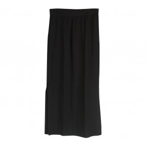 UNIQLO Black Slit Skirt