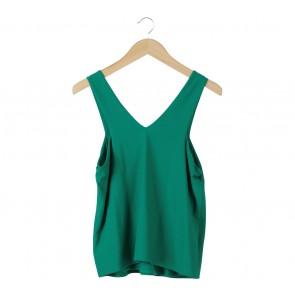 Mango Green Sleeveless Sleeveless