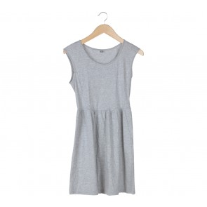 UNIQLO Grey Mini Dress