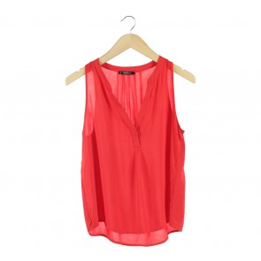 Mango Red Sleeveless