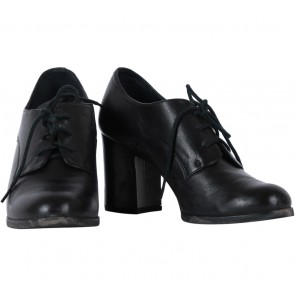 Staccato Black Lace Up Boots