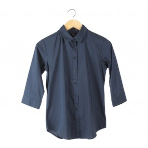 UNIQLO Dark Blue Shirt