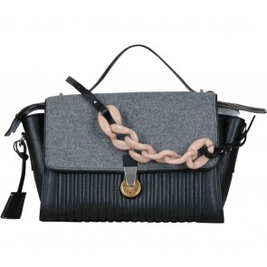 Kenzo Black And Grey Combi Sling Bag