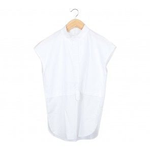 BINCA White Sheer Insert Blouse