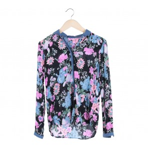 Stradivarius Multi Colour Blouse