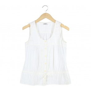 Esprit Cream Sleeveless
