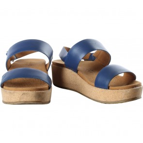 Beajove Brown And Blue Maple Sandals