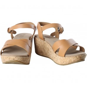 Beajove Brown Cassie Sandals