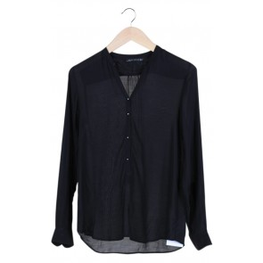 Black Long Slevee Blouse