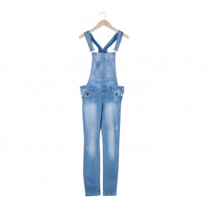 Stradivarius Blue Jumpsuit
