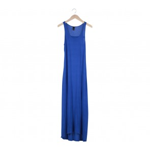 H&M Blue Long Dress