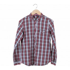 Zara Multi Colour plaid Shirt