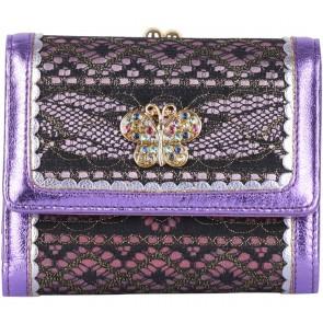 Anna Sui Purple Lace Wallet
