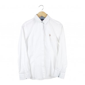 Polo White Shirt