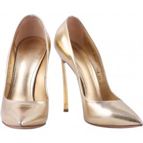 Casadei Gold Heels
