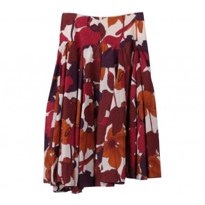 Zara Multi Colour Floral Skirt