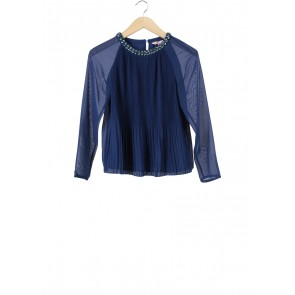 Ted Baker Dark Blue Beaded Blouse