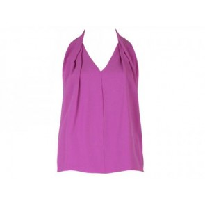 Diane Von Furstenberg Purple Sleeveless