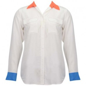 Equipment Femme Off White Shirt