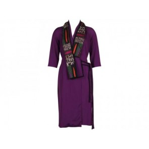 Etro Profumi Purple Outerwear
