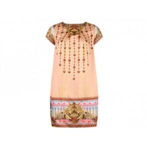 Manish Arora Peach Midi Dress