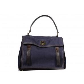 Yves Saint Laurent Blue Tote Bag