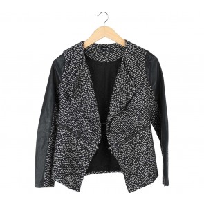 Zalora  Black And White Outerwear
