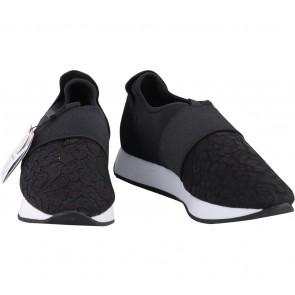 Zara Black Slip On Sneakers