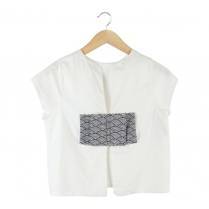 Beatrice Clothing Off White Sleeveless