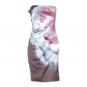 Karen Millen Multi Colour Tube Mini Dress