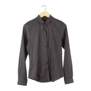 Raoul Dark Brown Slim Fit Shirt
