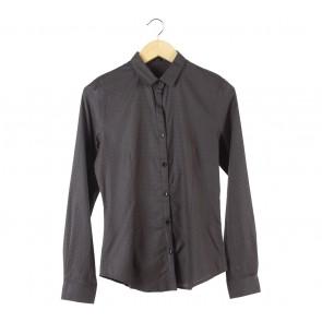 Raoul Dark Brown Slim Fit Shirt