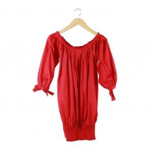Raoul Red Mini Dress
