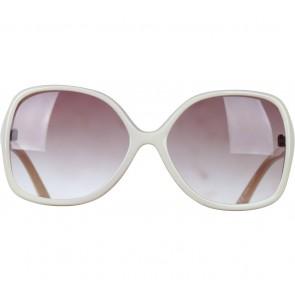 Mango White And Cream Sunglasses