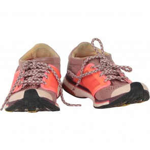 Adidas Stella McCartney Brown And Orange Running Adios Boost Sneakers