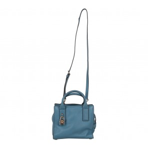Michael Kors Blue Satchel
