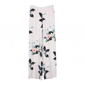 Zara Cream Floral Pants