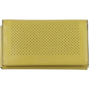 Coach Yellow Folded Wallet