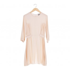 Asos Cream Mini Dress