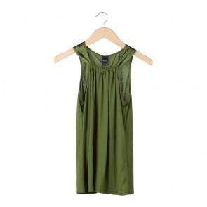 Esprit Green Sleeveless